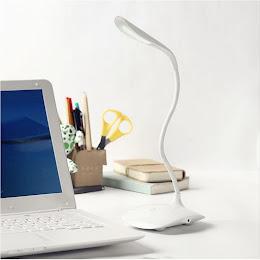 Lampa de birou USB reglabila cu 14 leduri si senzor tactil