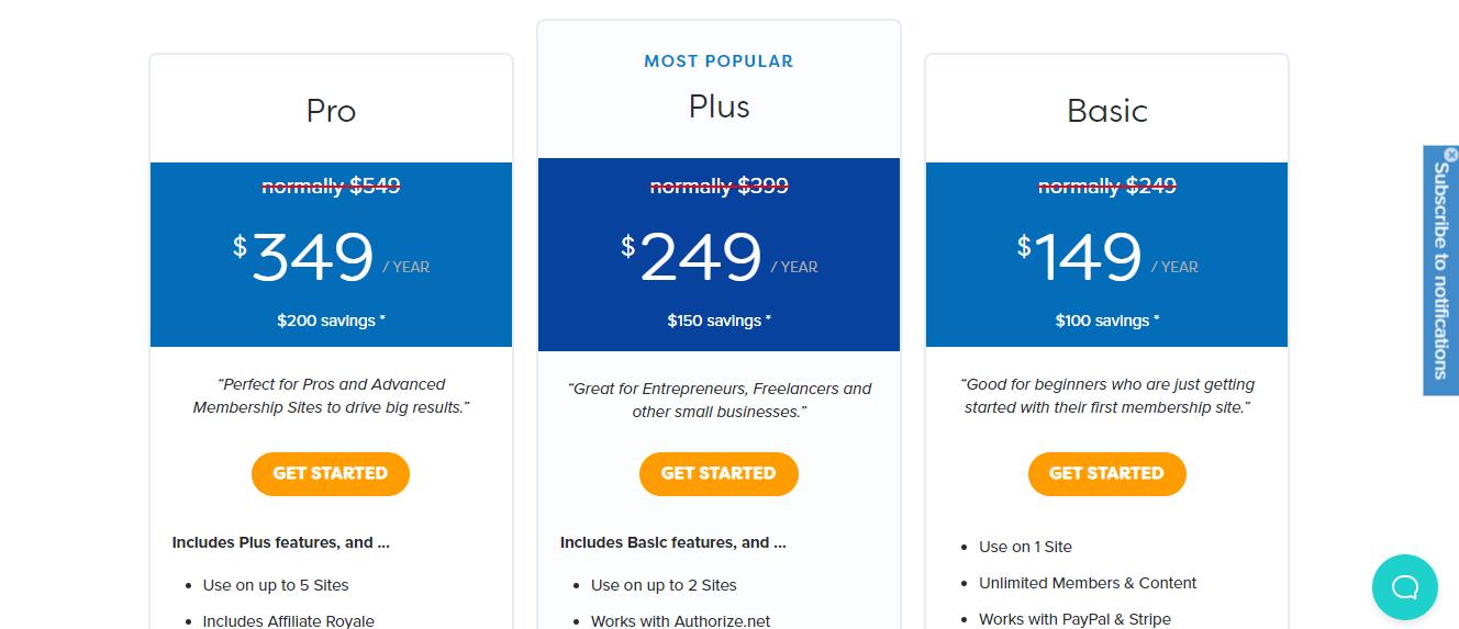 MemberPress Pricing Options