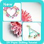 DIY Paper Quilling Tutorial APK icon