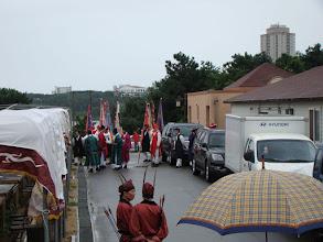 Photo: die Parade