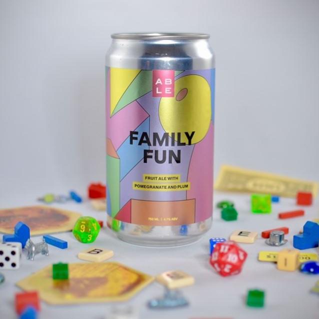 Logo of Able Family Fun