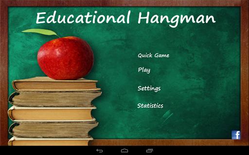 Educational Hangman in English  screenshots 7