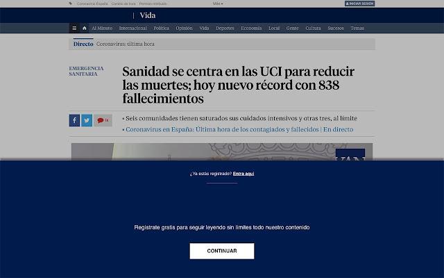 Liberador periodicos España
