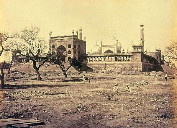 Old India Photos - Jama Masjid in 1857