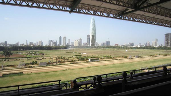 Namaste Tower - View from Race Course