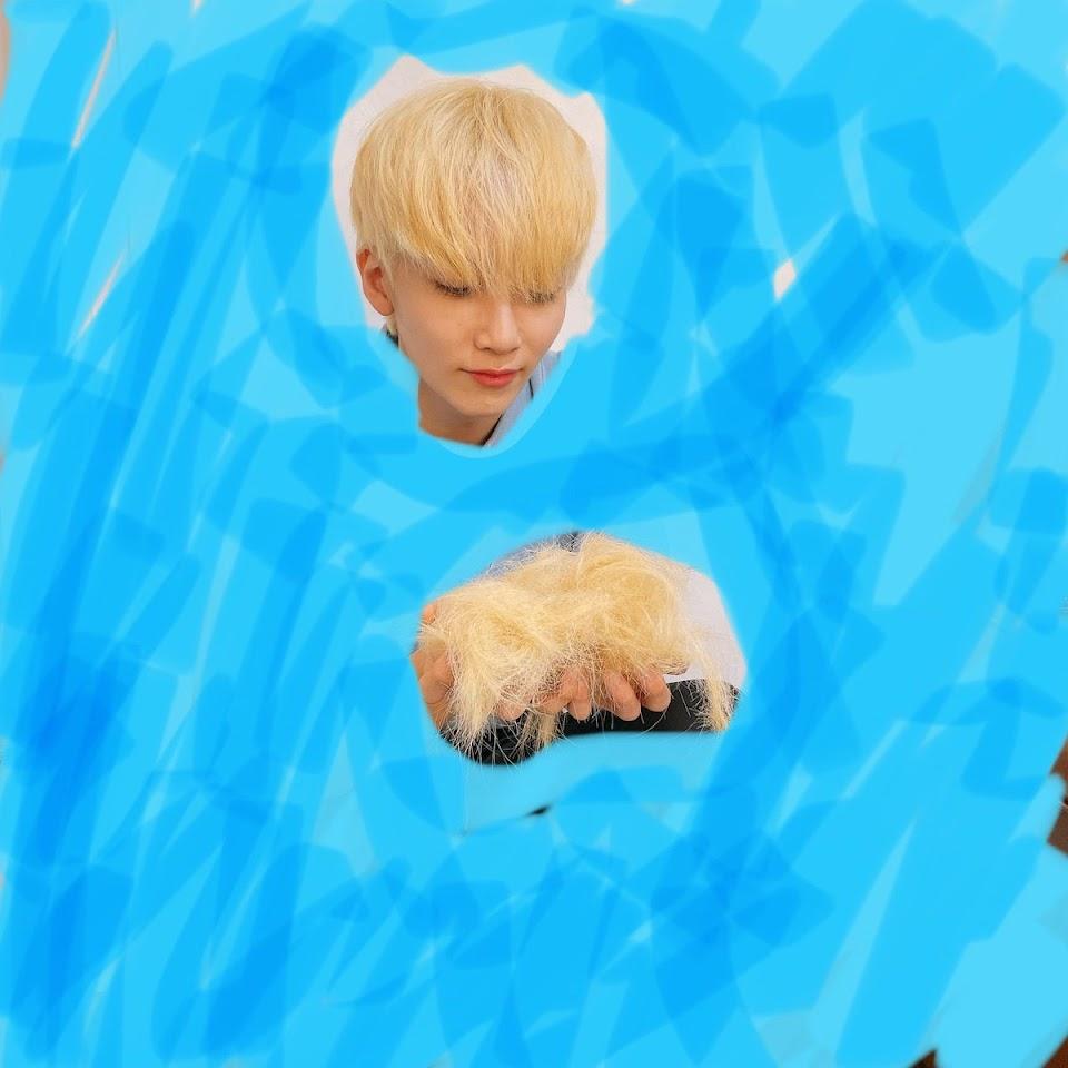 seventeen jeonghan weverse short hair