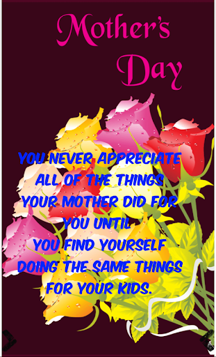 Mother's Day Greetings Maker