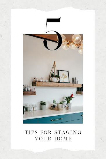 Staging Your Home - Pinterest Pin Template