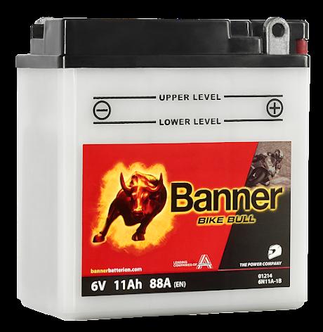 Banner Mc Batteri 6N11A-1B