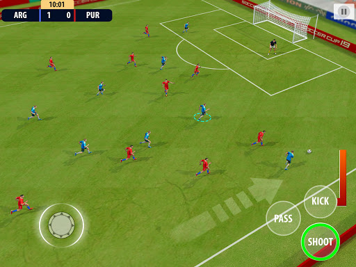 Soccer League Dream 2021: World Football Cup Game apkmr screenshots 10