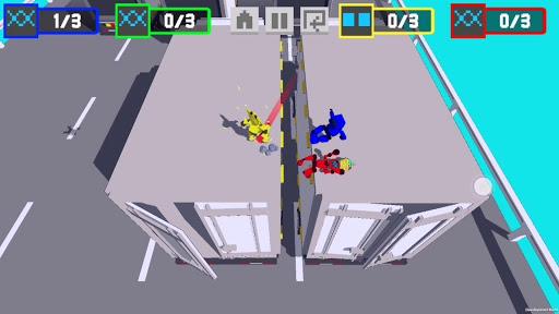 Robot Battle 1234 player offline mutliplayer game  captures d'écran 2