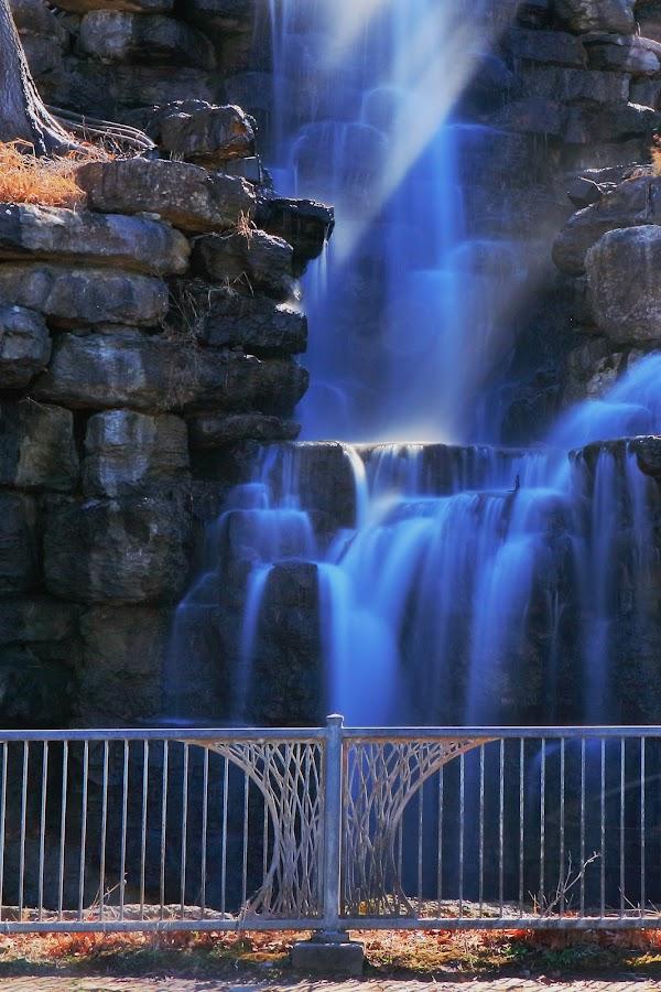 Peaceful Waterfall by Richard Roberts Jr. - Nature Up Close Water