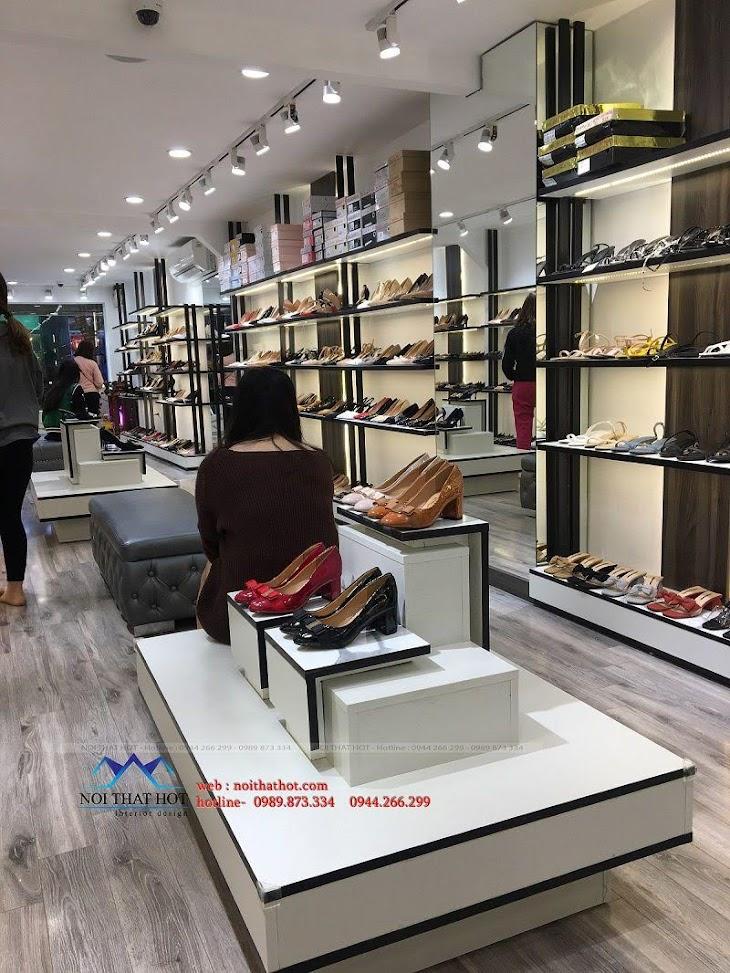 thiết kế thi công shop giày dép thời trang ha huyen 9