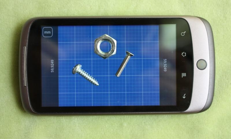 Millimeter - screen ruler app- screenshot
