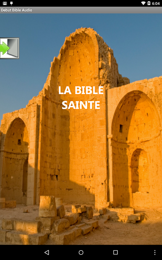 bible audio en fran u00e7ais