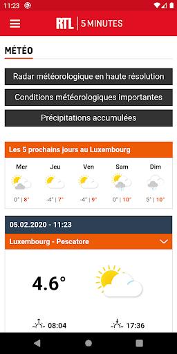 RTL 5minutes.lu screenshots 2