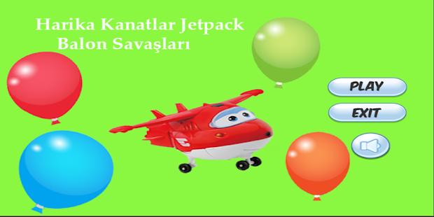 Harika Kanatlar Jetpack Balon Mücadele - náhled