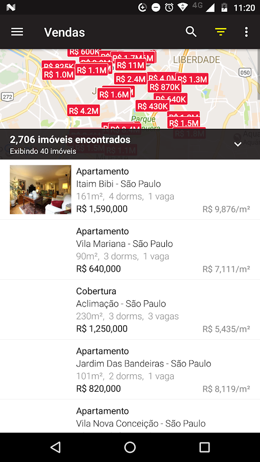 Local Imóveis- screenshot