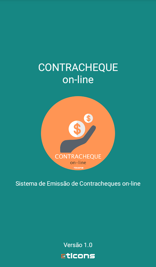 Contracheque on-line- screenshot