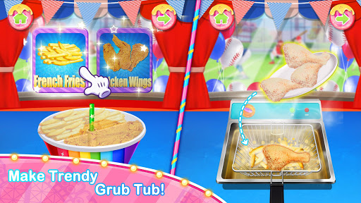 Unicorn Chef Carnival Fair Food: Games for Girls 1.6 screenshots 1