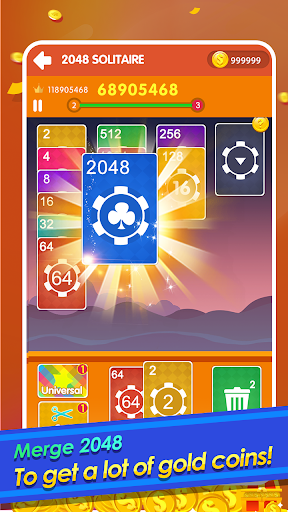 2048 Cards Casual - 2048 Solitaire Games apkmr screenshots 1