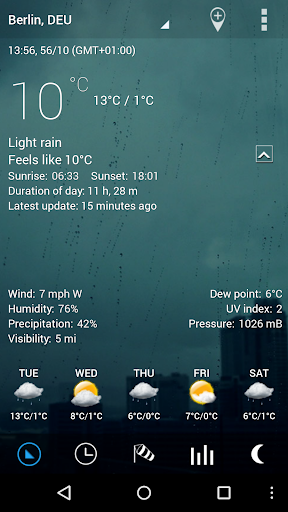 Sense Flip Clock & Weather Pro  screenshots 17