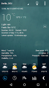 Sense Flip Clock & Weather Pro screenshot 16