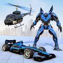 Formula Helicopter Robot Game icon