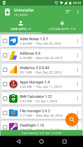 Uninstaller by Splend Apps v1.13 [Unlocked]