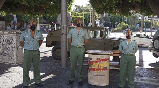 Defensa oferta 118 plazas de ingreso en la Legión en Almería