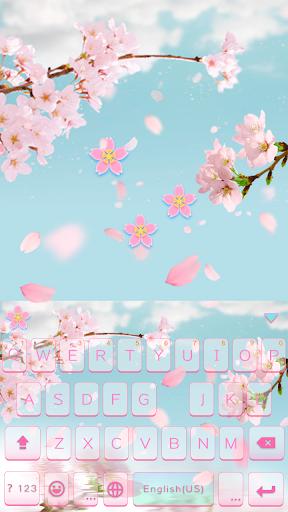Cherry Blossom Emoji iKeyboard