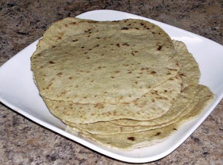 Home Made Spelt Tortillas Recipe