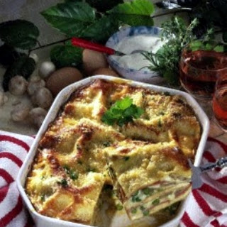 Lasagne Alla Carbonara