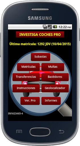 Investiga Coches GRATIS