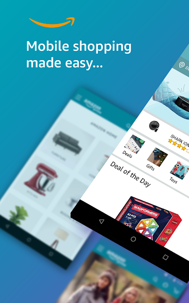 Amazon Shopping - Search Fast, Browse Deals Easy Android App Screenshot