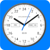 Analog Clock 24-7 Android APK Download Free By Style-7