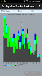 Earthquakes Tracker Pro 2.4.8 4