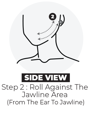Slimface step 2 side