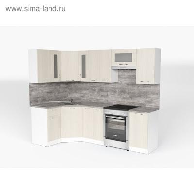 Кухонный гарнитур Лариса оптима 1 1300*2500 мм