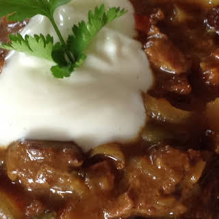 Sweet Beef Curry.