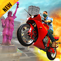 Grand Gangster Miami Motor Bike 2020 icon