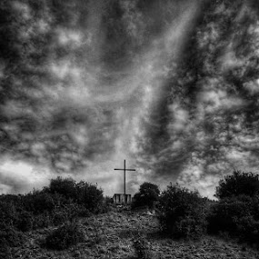 Golgotha by Matthew Miller - Black & White Landscapes