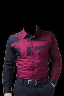 Man Shirt Photo Suit - náhled