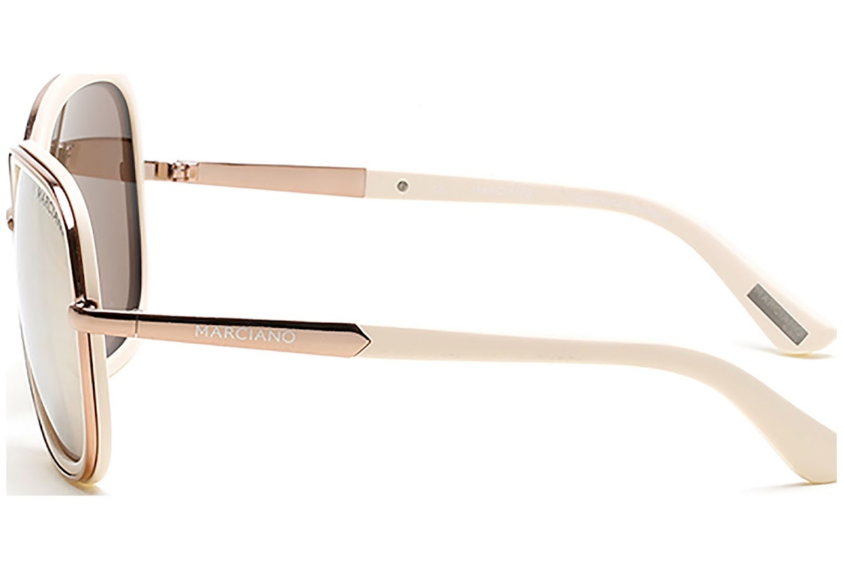 483bbdaab3b7d Sunglasses Guess By Marciano GM0734 C61 28G (shiny rose gold   brown mirror)