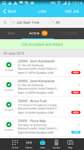 Fleetmatics WORK Android 4.0+- screenshot thumbnail