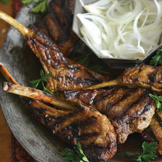 Persian Saffron Lamb Chops.