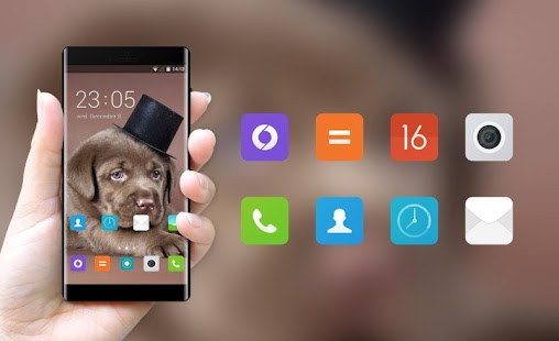 Theme for Meizu U20 Puppy Wallpaper - náhled