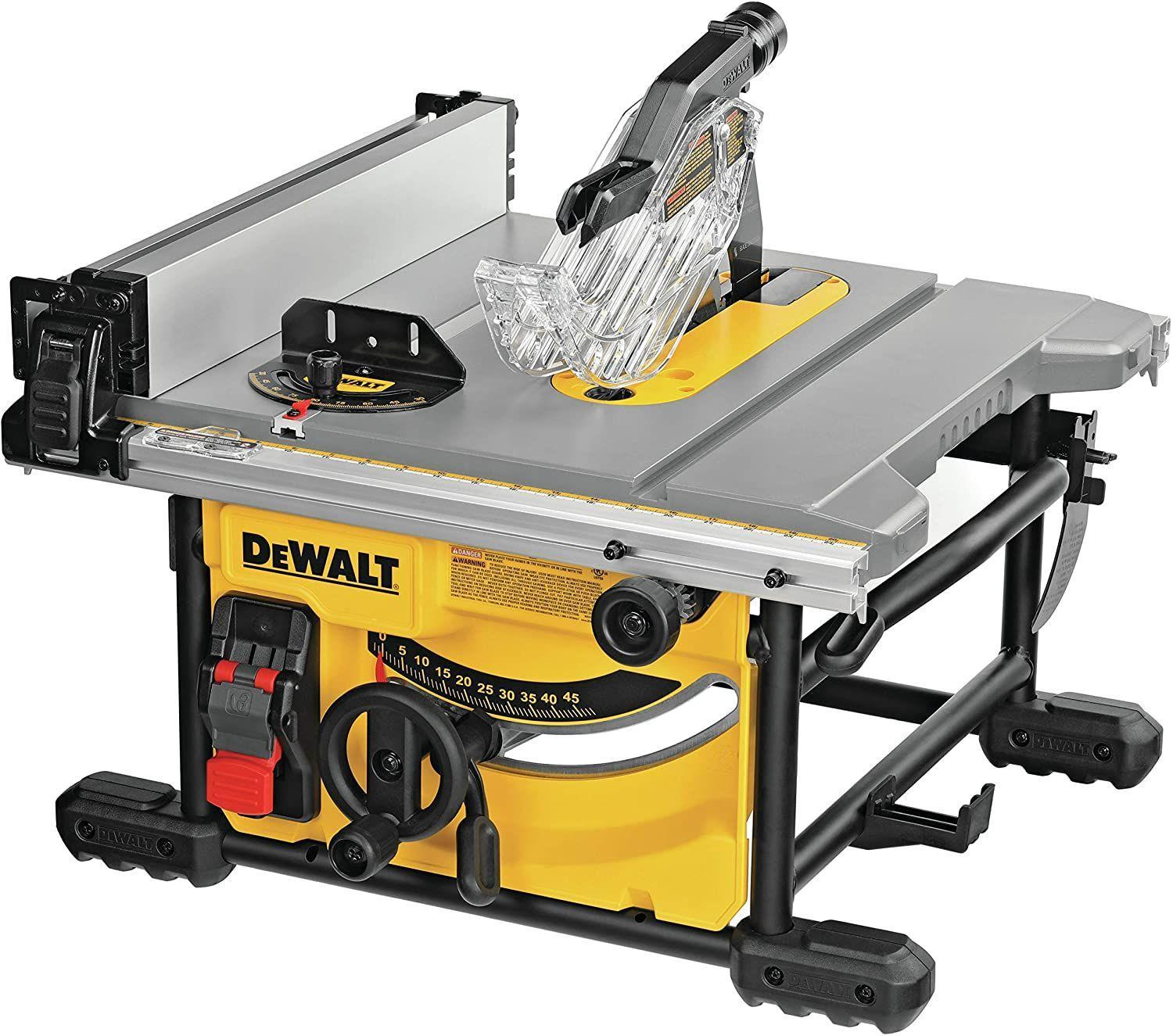 Best Portable Table Saw | DEWALT Table Saw for Jobsite