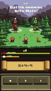 Math and Sorcery - Math Battle RPG Screenshot