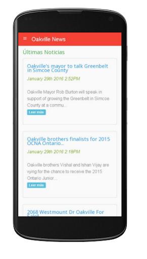 Oakville News 1.0 screenshots 2